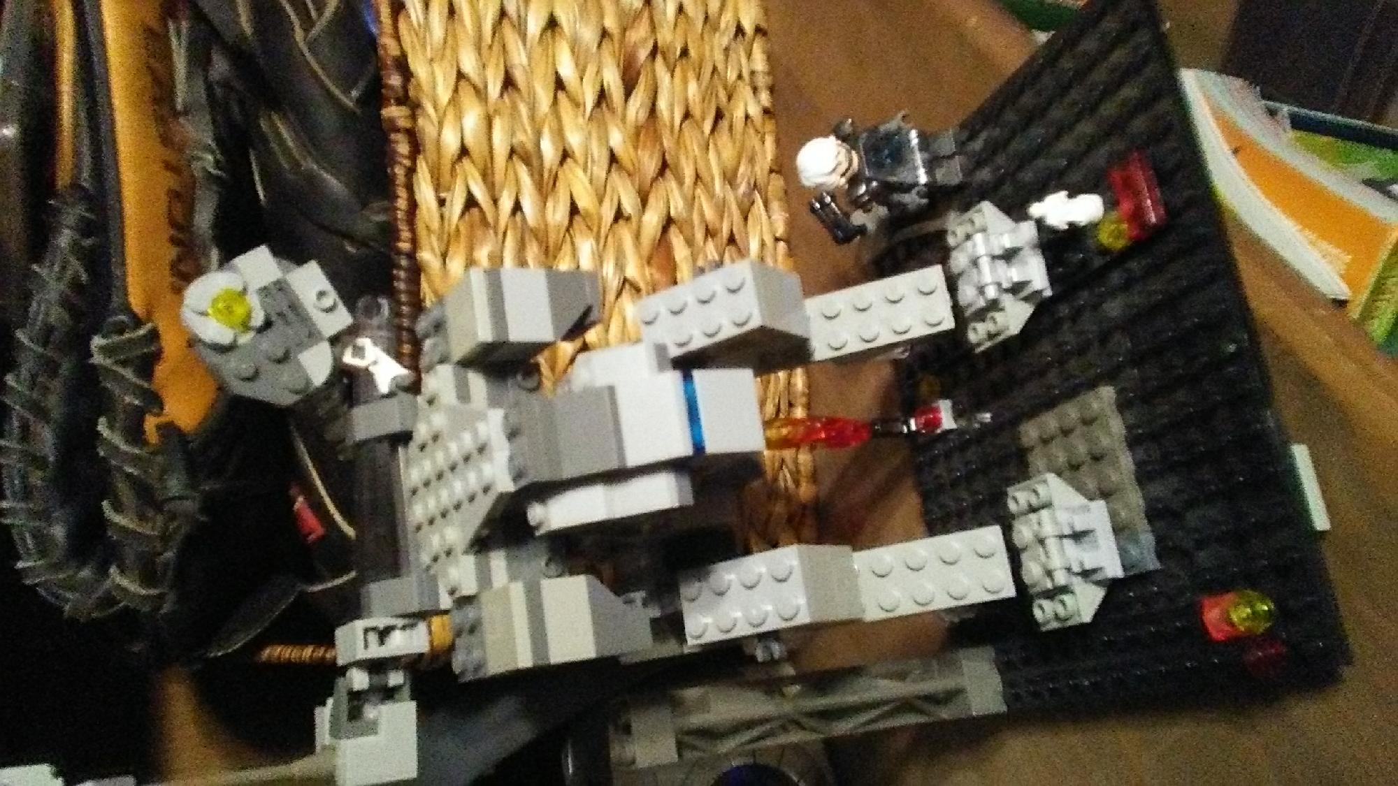Lego rex and raiden