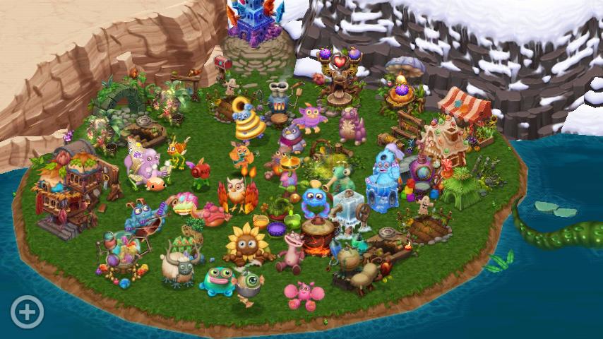 My DOF Island