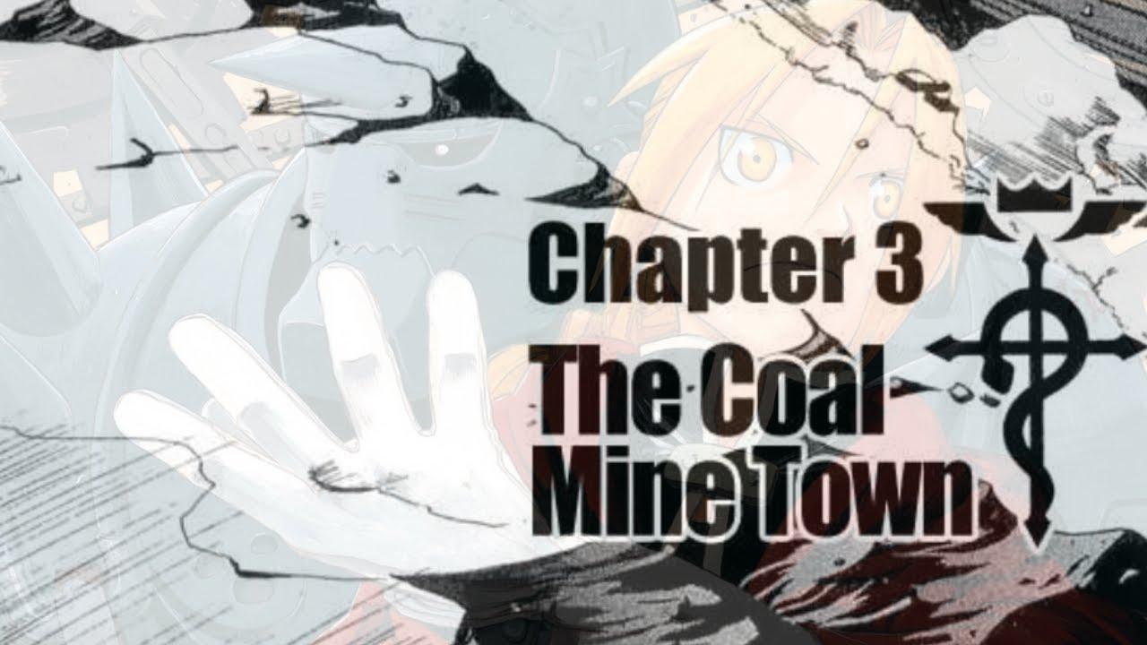 Fullmetal Alchemist Manga Dub Chapter 3 - Old Mine Town (Animated)
