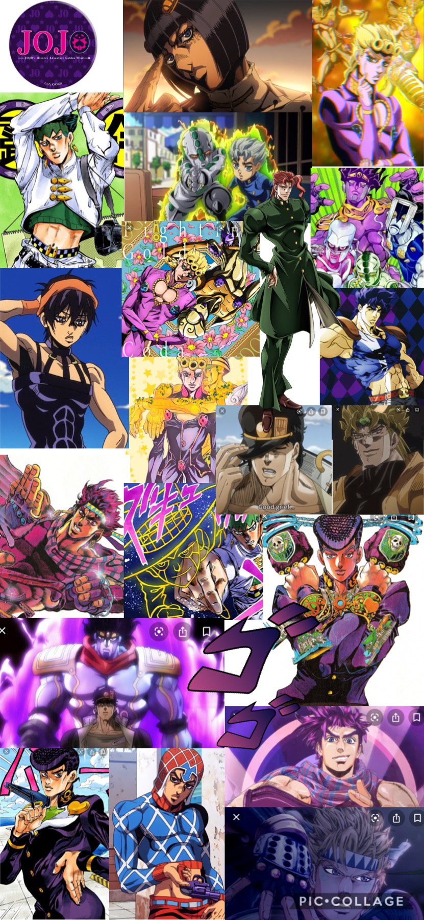 Okay But Check Out My Jojo Wallpaper The Pictures Were Chosen At