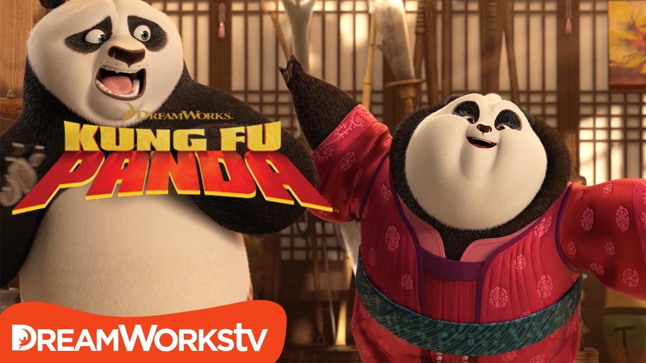 Panda Sneak Attack   NEW KUNG FU PANDA