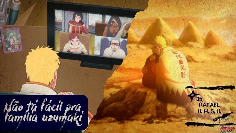 Família Uzumaki no fundo do poço #Boruto220 | Rafa analisa!