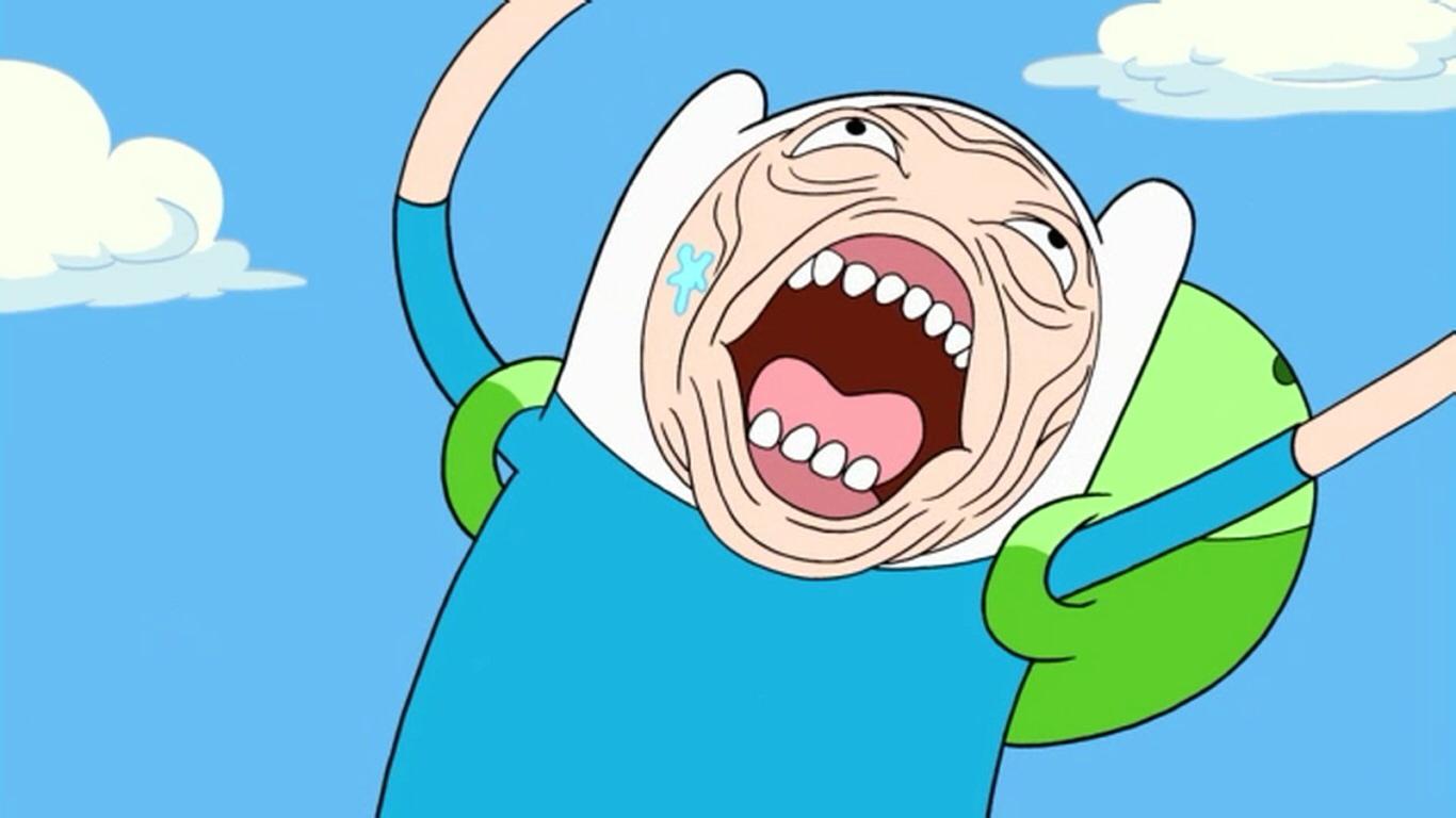 every time Finn screams it kills me. i don't think i've ever heard someone scream like him