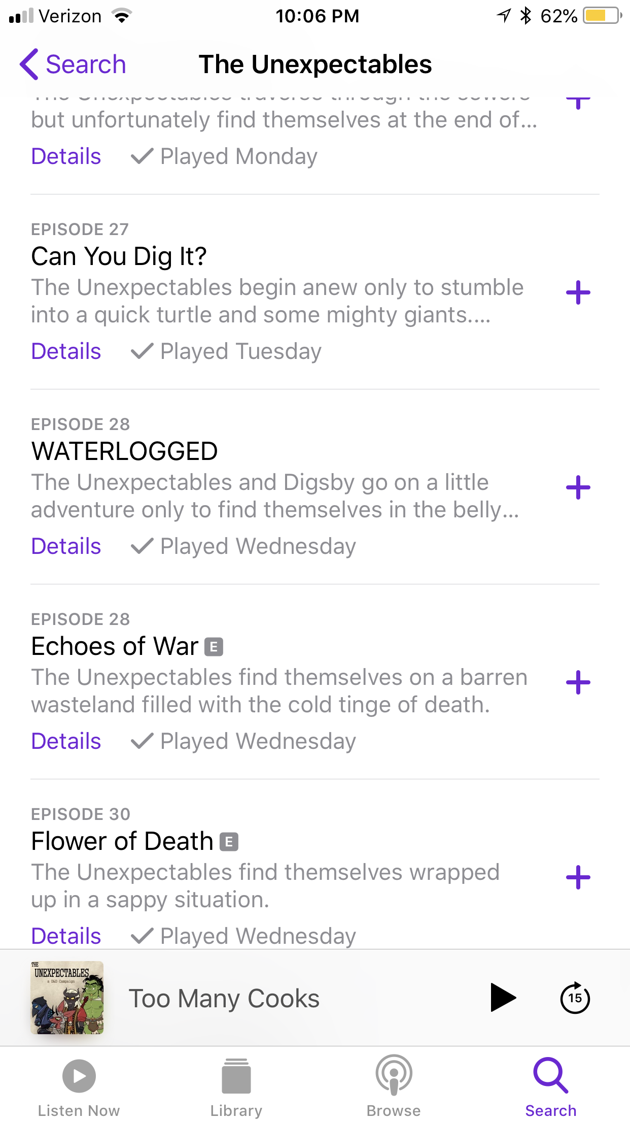 Here is podcast for the unexpectables Digsby was introduced in episode 27