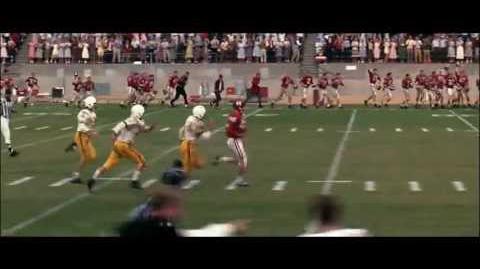 Forrest Gump football game scene