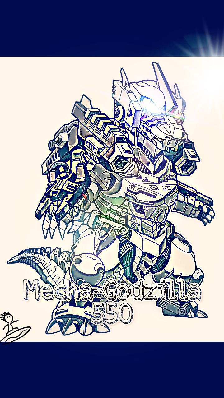 Mecha-Godzilla 550 2.0