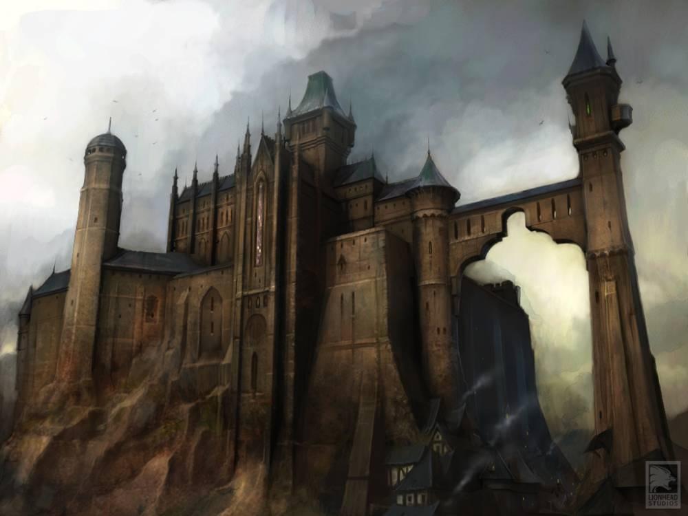 Нью-Глушвилльский замок