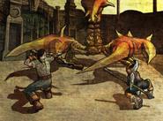 Chamber of Fate Fresco - Scorpion King