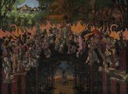 Chamber of Fate Fresco - Raid on Oakvale