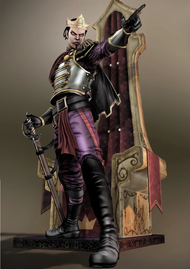King Logan Character Design