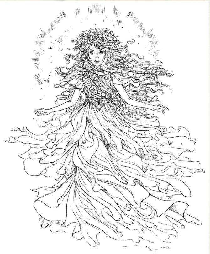 Fairy Queen Fablehaven Wiki Fandom