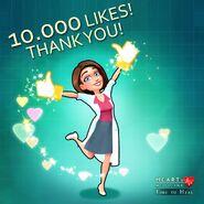 Allison Heart 10000 Likes