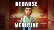 Connor Because Medicine