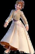 Princess Anna of Arendelle Frozen II Cream Dress