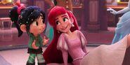 Ariel meets Vanellope