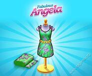 Fabulous Angela Green Dress
