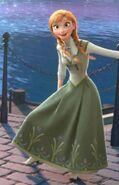 Anna Frozen Full Epilogue Dress