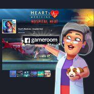 Heart's Medicine Hospital Heat Facebook Gameroom