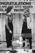 Blair and Cousin Geri