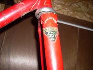 Reynolds 531 - fork decal - Raleigh