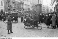 Rikscha im Warschauer Ghetto