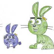 Timmy, Poof, Wanda, and Cosmo as Rabbits.PNG