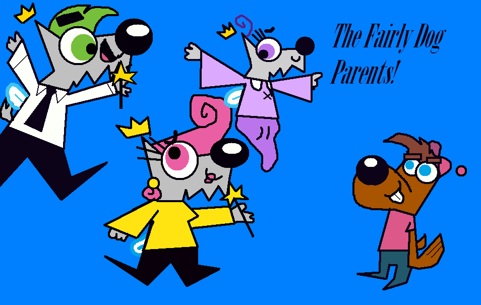 The Fairly Dog Parents!
