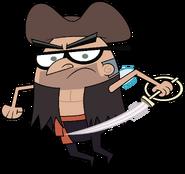 Stan Pirate Stock Image