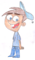 Timmy Turner in Blue