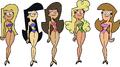Supermodels swimsuit 1 image