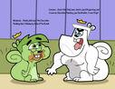 Cosmo eat poop by cookie lovey-d5mydl9