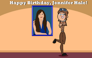 Happy Birthday Jennifer Hale