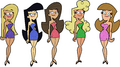 Supermodels dress image