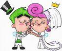 Cosmo n wanda s wedding kiss by nintendomaximus-d3koymc