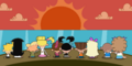 FOP Couples Watch the Sunset re-imaged