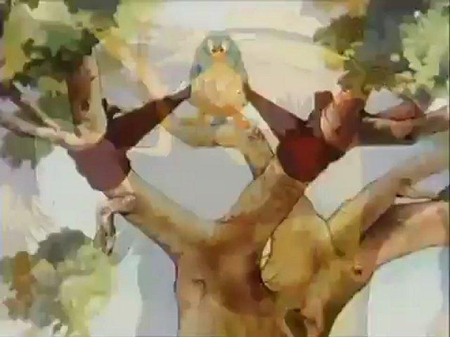 Noveltoon - Little Lulu - Lulu Gets the Birdie (1944) - Famous Studios