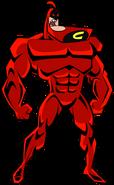 Nega-Chin (Crimson Chin) Stock Image