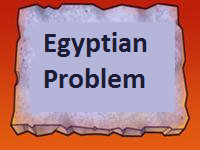 Egyptian Problem