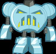 Trixie Tang Flawless Diamond Princess Jack-O-Bot (Real and Scary) Stock Image