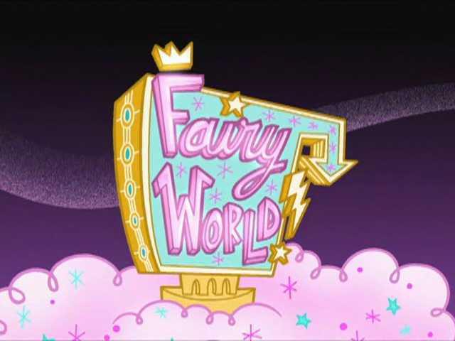 Fairy World Entrance Sign