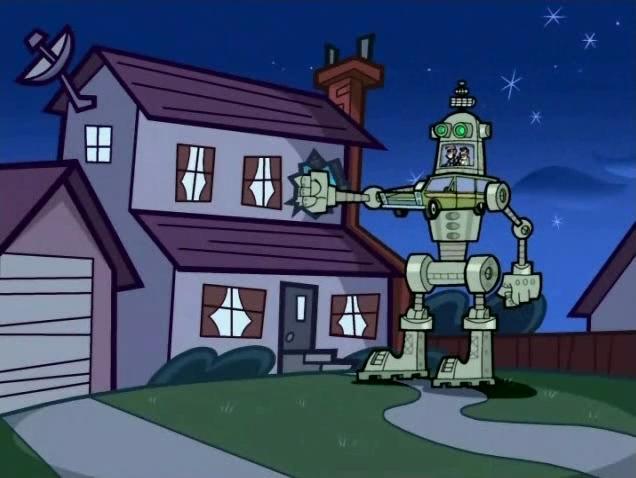 Mr. Turner's Giant Fighting Robot