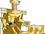 Bronze Kneecap