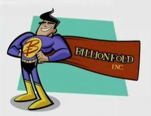 Billionfold Studios logo 2004-Present