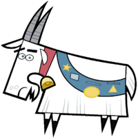 Stock Image of Chompy the Goat.png