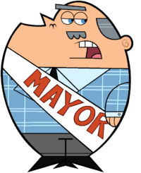 Stock Image of The Mayor of Dimmsdale.png