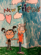 Tootie and lincoln are new friends by liljahmir08 dech0d5-fullview