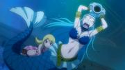Lucy invoque Aquarius lors de la Bataille Navale.png