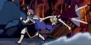 Natsu tire Lucy par la main.png