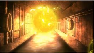 La sphère d'énergie électrique de Luxus