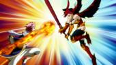 Natsu attackiert erza